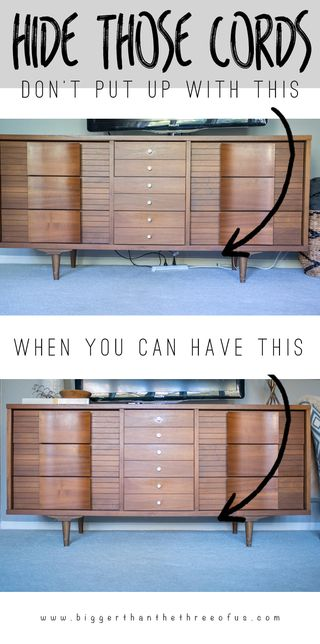 15 Best Tips For How To Hide Cords In Your Home Hide Tv Wires
