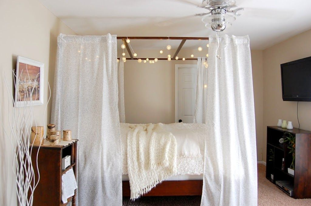 & 10 DIY Canopy Beds - Bedroom and Canopy Decorating Ideas