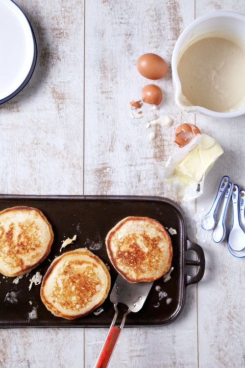 make ahead whole grain pancake mix
