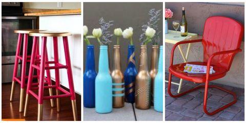 Blue, Bottle, Room, Furniture, Teal, Glass bottle, Ladder, Cobalt blue, Drink, Shelving,