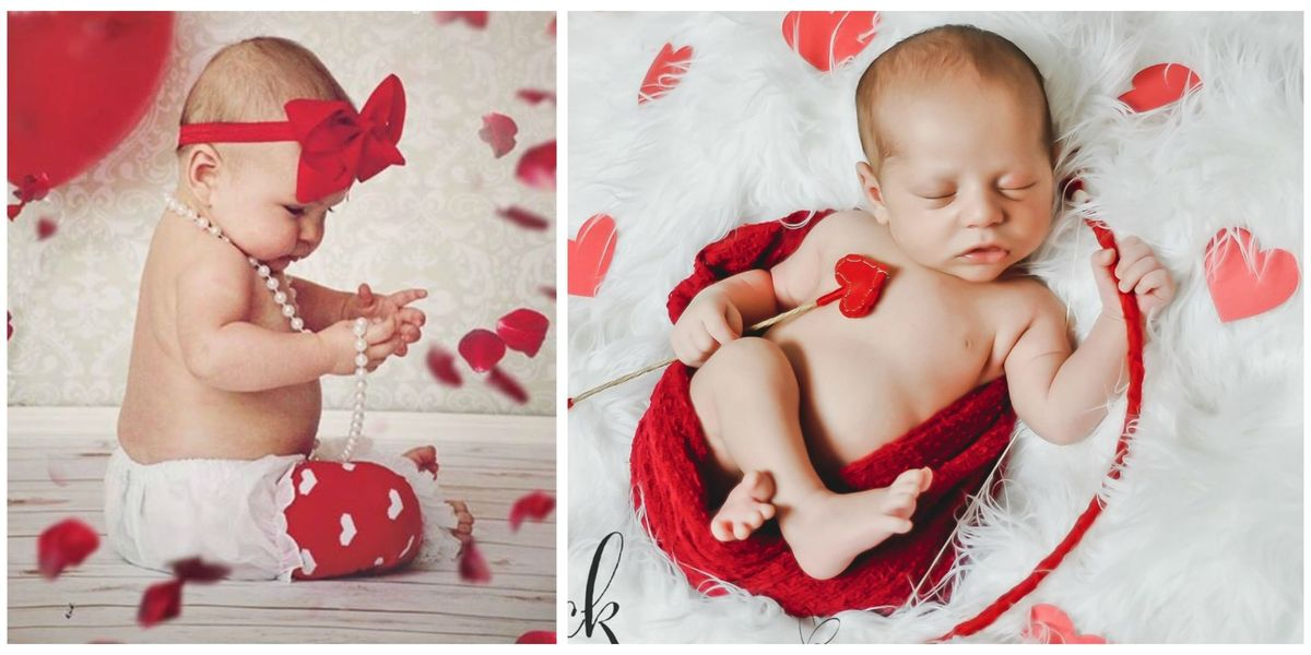 16 valentines day babies newborn photography for valentines day