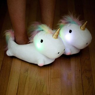 0d0cea982fa Unicorn Slippers - Adult Unicorn Slippers