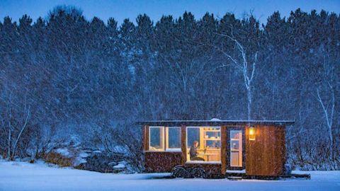 Winter Tiny House