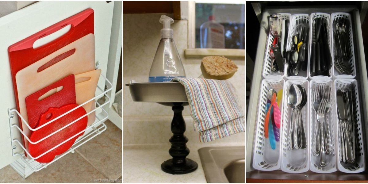 12 Dollar Store Finds That Make Amazing Kitchen Organizers