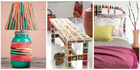 13 Creative Ideas For Yarnbombing Your Home Yarn Crafts