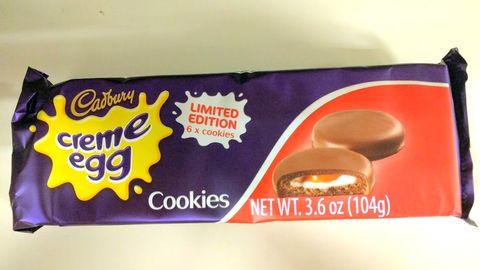 Cadbury Creme Egg Cookies