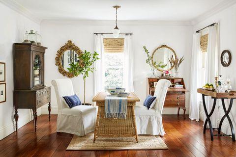 Wood, Room, Interior design, Floor, Flooring, Furniture, Table, Home, Interior design, Wood flooring,