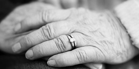 Finger, Jewellery, Skin, Wrist, Hand, Nail, Monochrome photography, Style, Ring, Engagement ring,