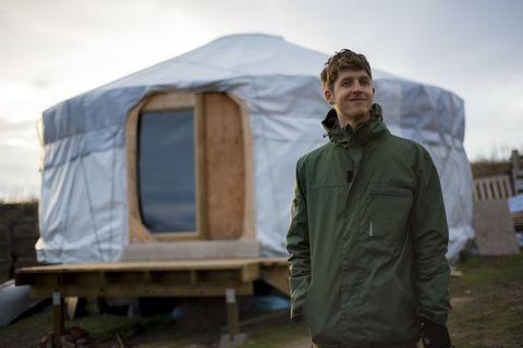 Sleeve, Jacket, Winter, Tent, Hoodie, Windbreaker, Yurt, Camping, Hood, Tarpaulin,