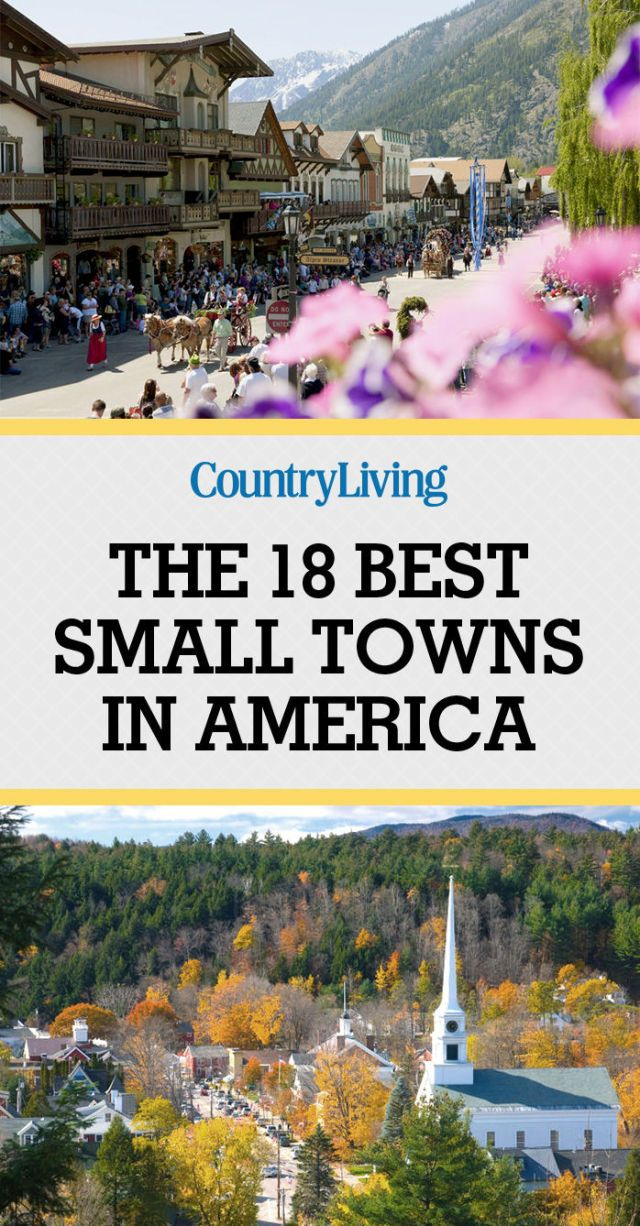 18 best small towns in america prettiest small towns in Best small town to live