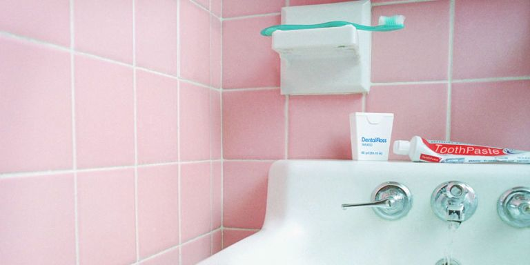 Getty Images. America Was Obsessed With Pink Bathrooms ...