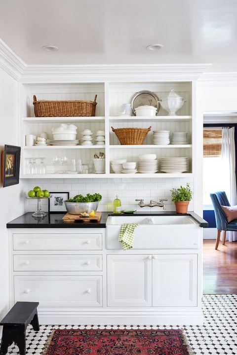 Room, Interior design, Floor, Flooring, White, Furniture, Wall, Drawer, Home, Interior design,