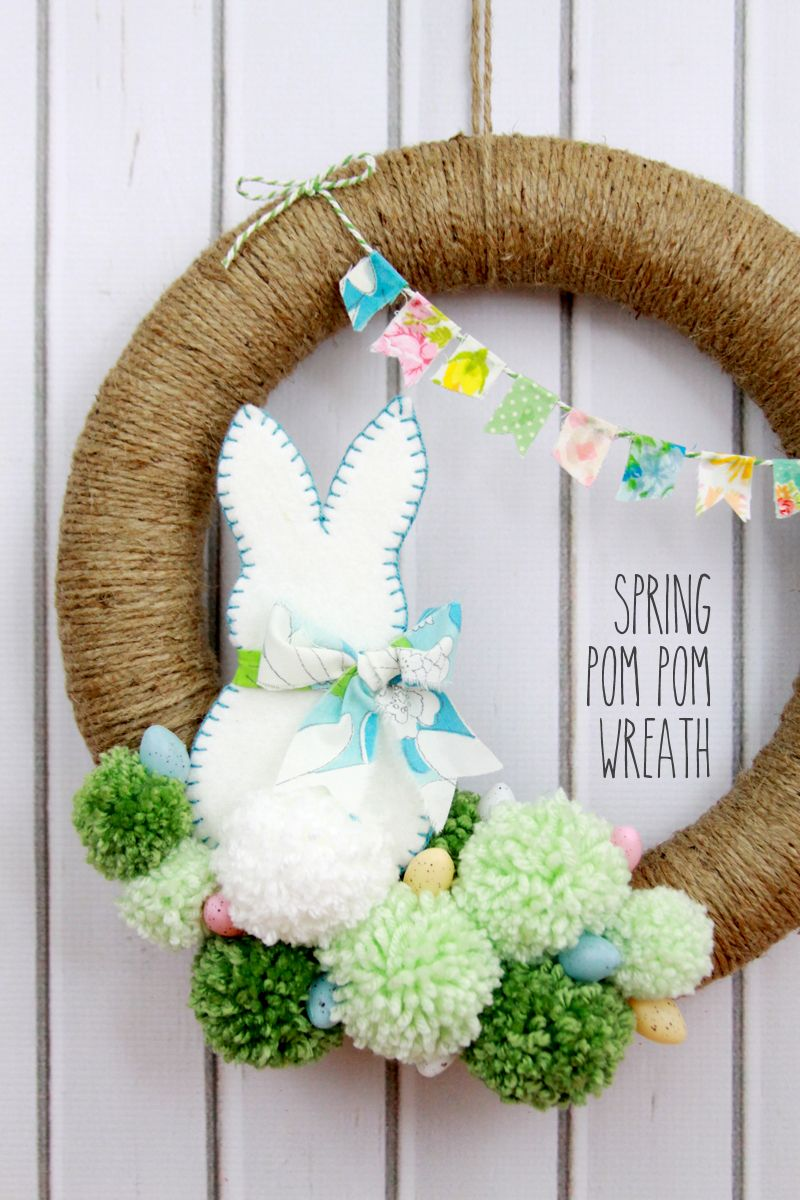 30 Diy Spring Wreaths How To Make A Spring Wreath Yourself