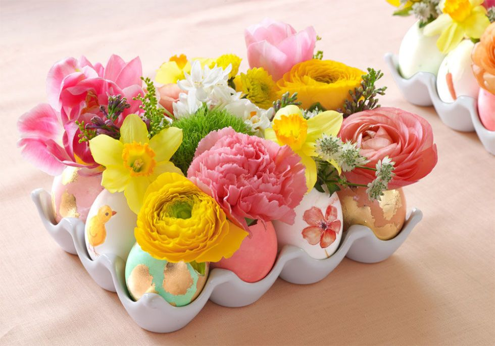40 easter table decorations centerpieces for easter - Easter Centerpieces