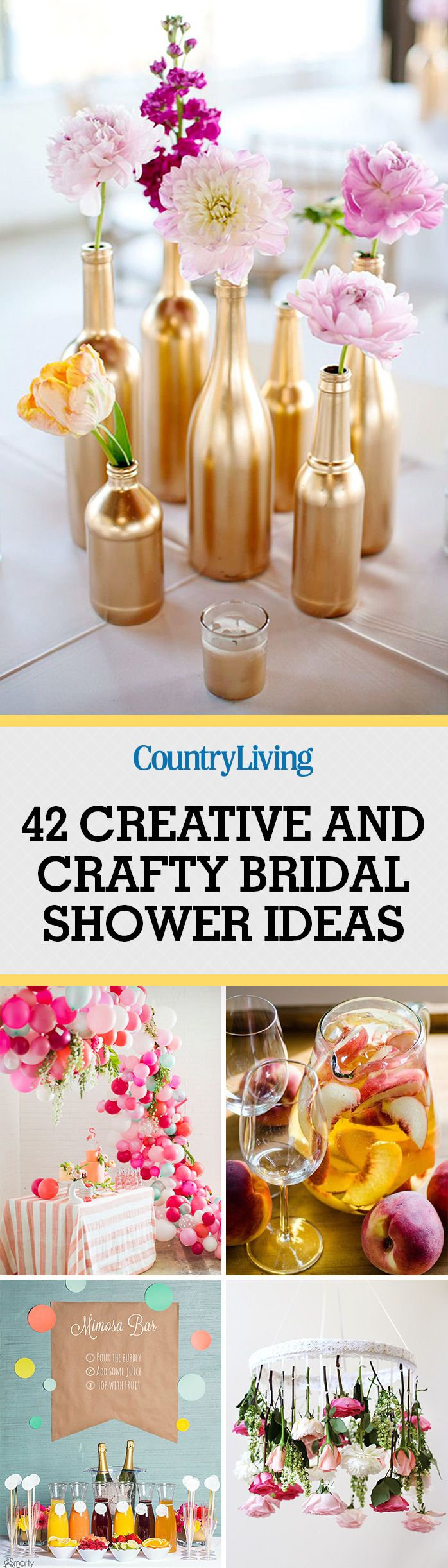 55 Best Bridal Shower Ideas Fun Themes Food And Decorating For Wedding Showers