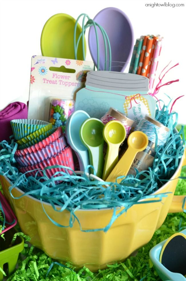 21 Cute Homemade Easter Basket Ideas   Easter Gifts For Kids And Adults