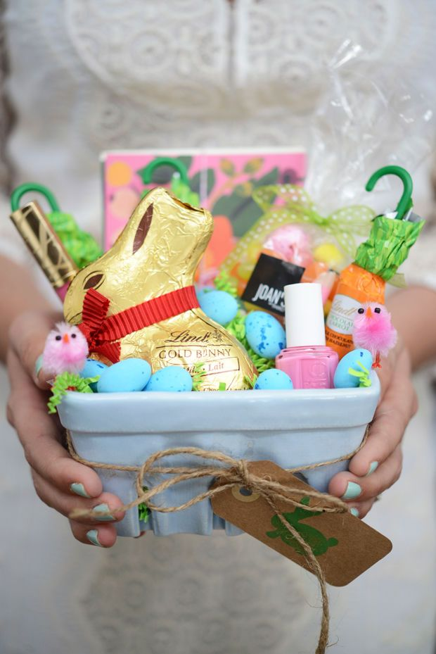 21 cute homemade easter basket ideas easter gifts for kids and 21 cute homemade easter basket ideas easter gifts for kids and adults negle Choice Image