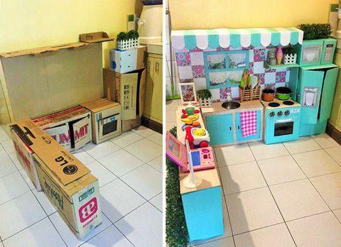 Cardboard, Carton, Box, Shipping box, Plastic, Nursery, Packaging and labeling, Cabinetry,