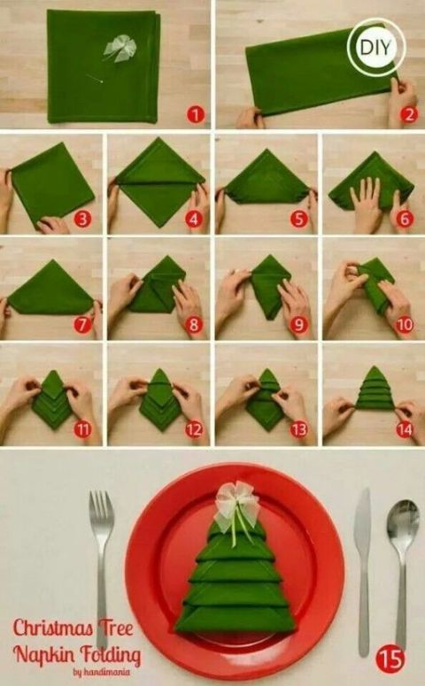 Handkerchief Art Ideas For Christmas Trees Toddlers