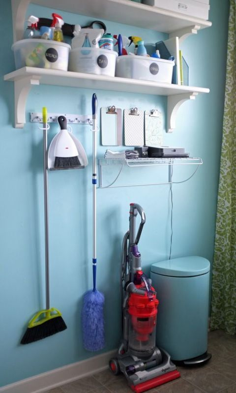 Shelving, Shelf, Household supply, Gas, Cylinder, Machine, Plastic, Vacuum cleaner, Household cleaning supply, Household hardware,