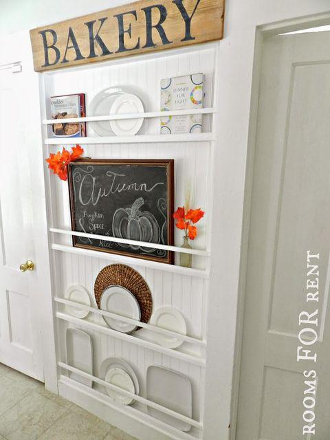 Room, Orange, Fixture, Door, Peach, Paint, Home door, Molding, Kitchen appliance, Door handle,