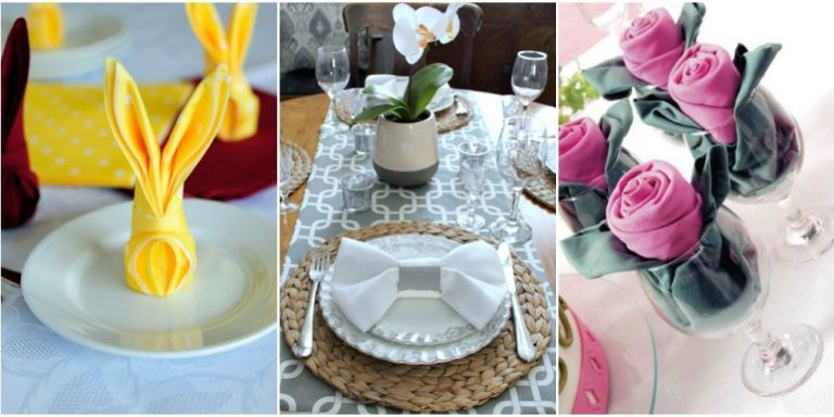 16 Pretty and Easy Napkin Folds for Every Occasion - Folding Napkins