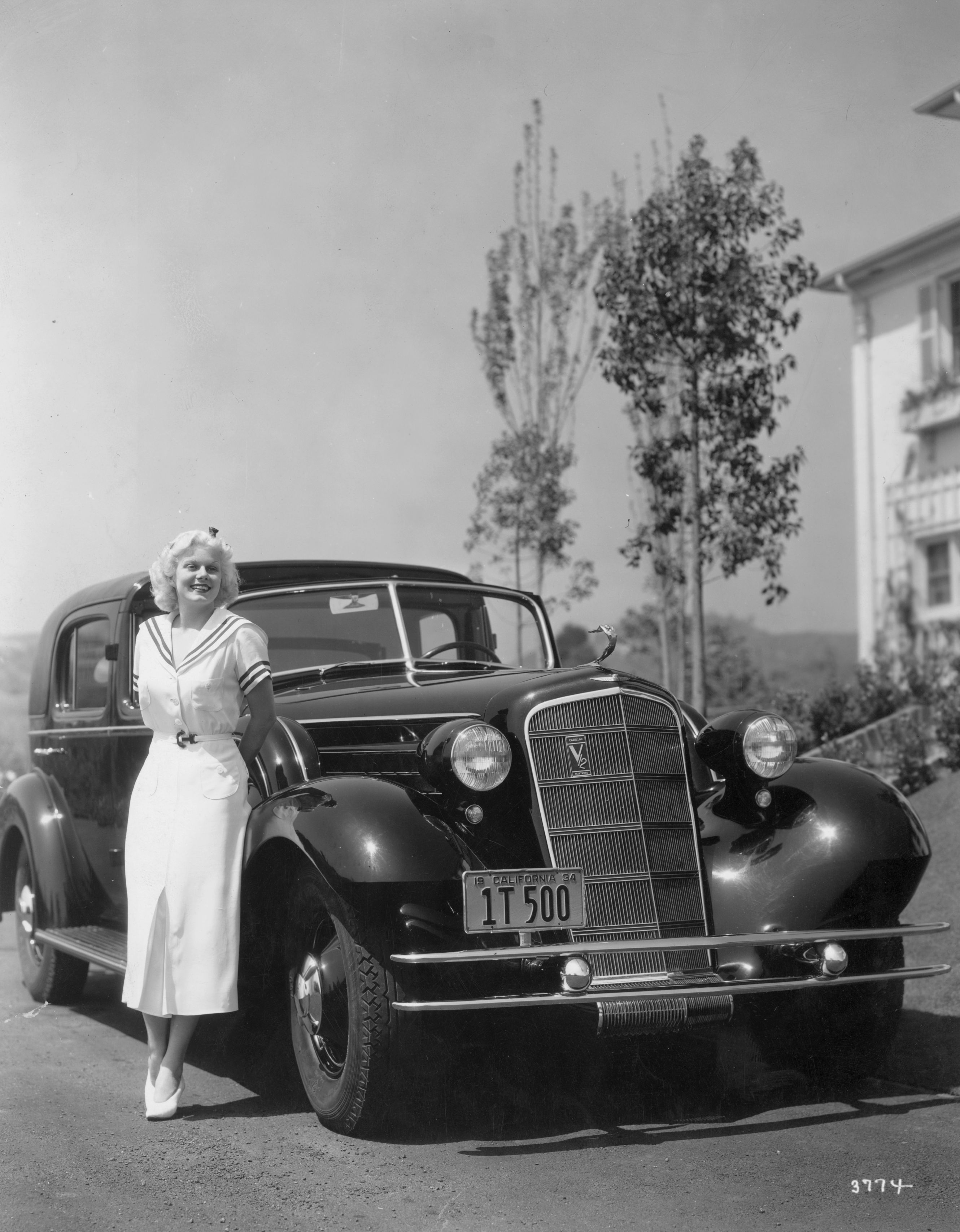 Ina Mae Spivey Pretty classic movie stars and their cars - celebrities and their cadillacs