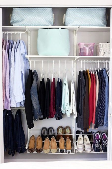 Blue, Room, Clothes hanger, Fashion, Collection, Shelving, Grey, Tan, Lavender, Shelf,