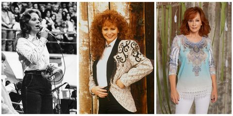 79bb9738722 Reba McEntire has rocked her fair share of glamorous gowns and sexy getups