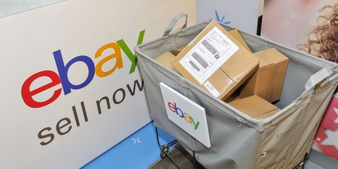 eBay helps sell gifts that were not quite right when eBay introduces Boxing Weekend on Dec. 26 and 27 at eight Westfield malls across the country, eBay selling stations and drop boxes are making it even easier for consumers to sell holiday items to get what they really want, through eBay Valet or by listing the items on eBay.com directly at Westfield San Francisco Centre on December 26, 2015 in San Francisco, California.