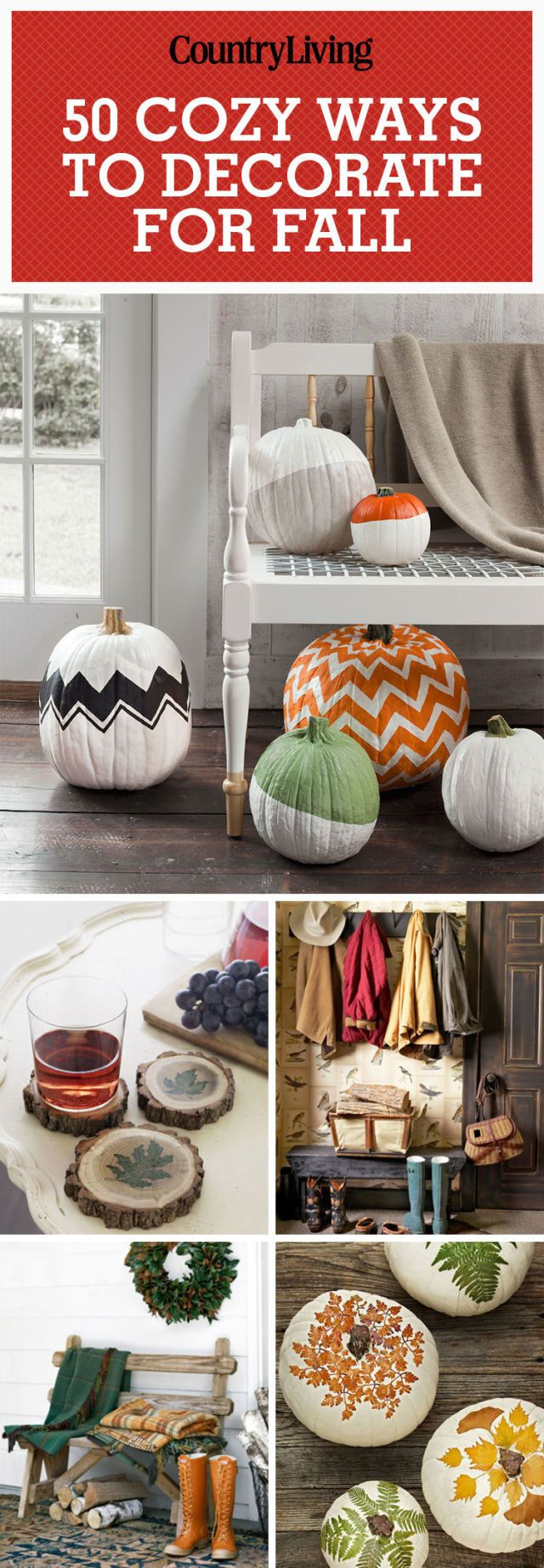 47 easy fall decorating ideas autumn decor tips to try for Simple decorating 50 ways to inspire your home