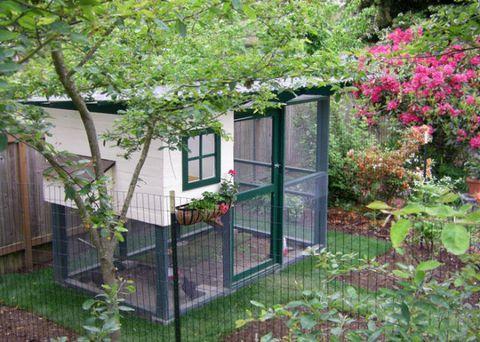 Courtesy of The Garden Coop - 24 DIY Chicken Coops You Need In Your Backyard - DIY Chicken Coop Plans