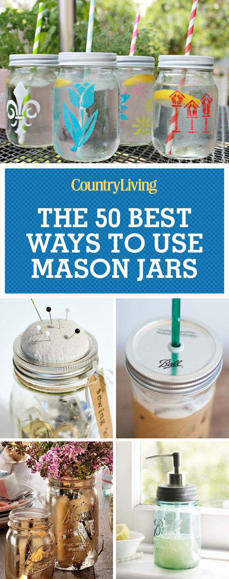 50 Great Mason Jar Ideas Easy