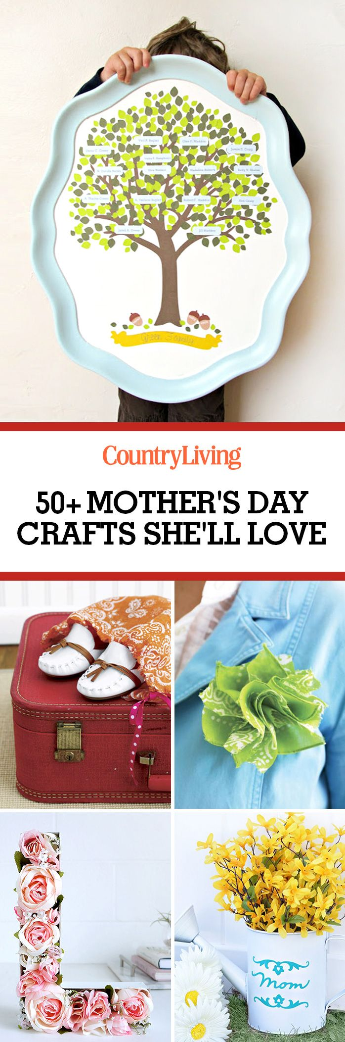53 Diy Mothers Day Crafts Easy Homemade Gifts For Sewing Machine Maintenance Made Simple Mother Earth News