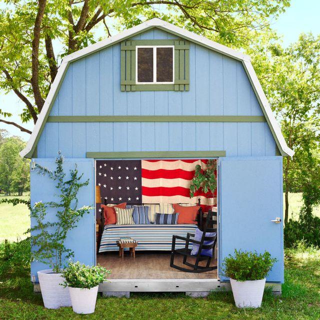 plant, flowerpot, outdoor furniture, house, garden, rural area, home, outdoor table, shade, garden buildings,