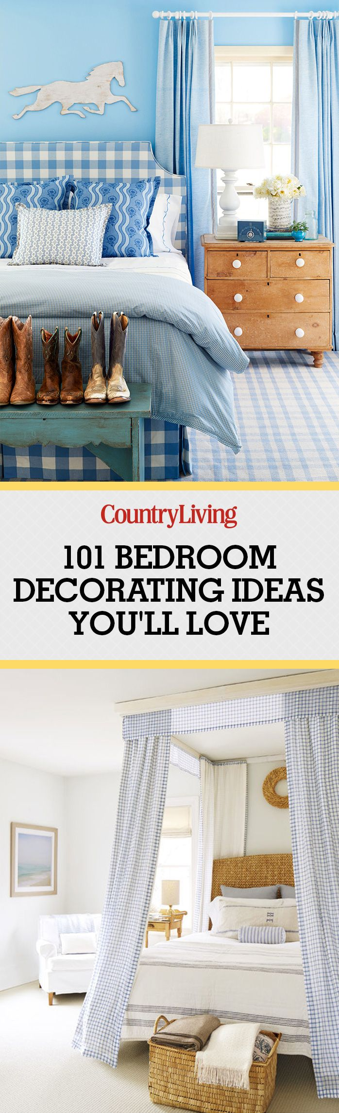 100+ Bedroom Decorating Ideas in 2017 - Designs for Beautiful Bedrooms