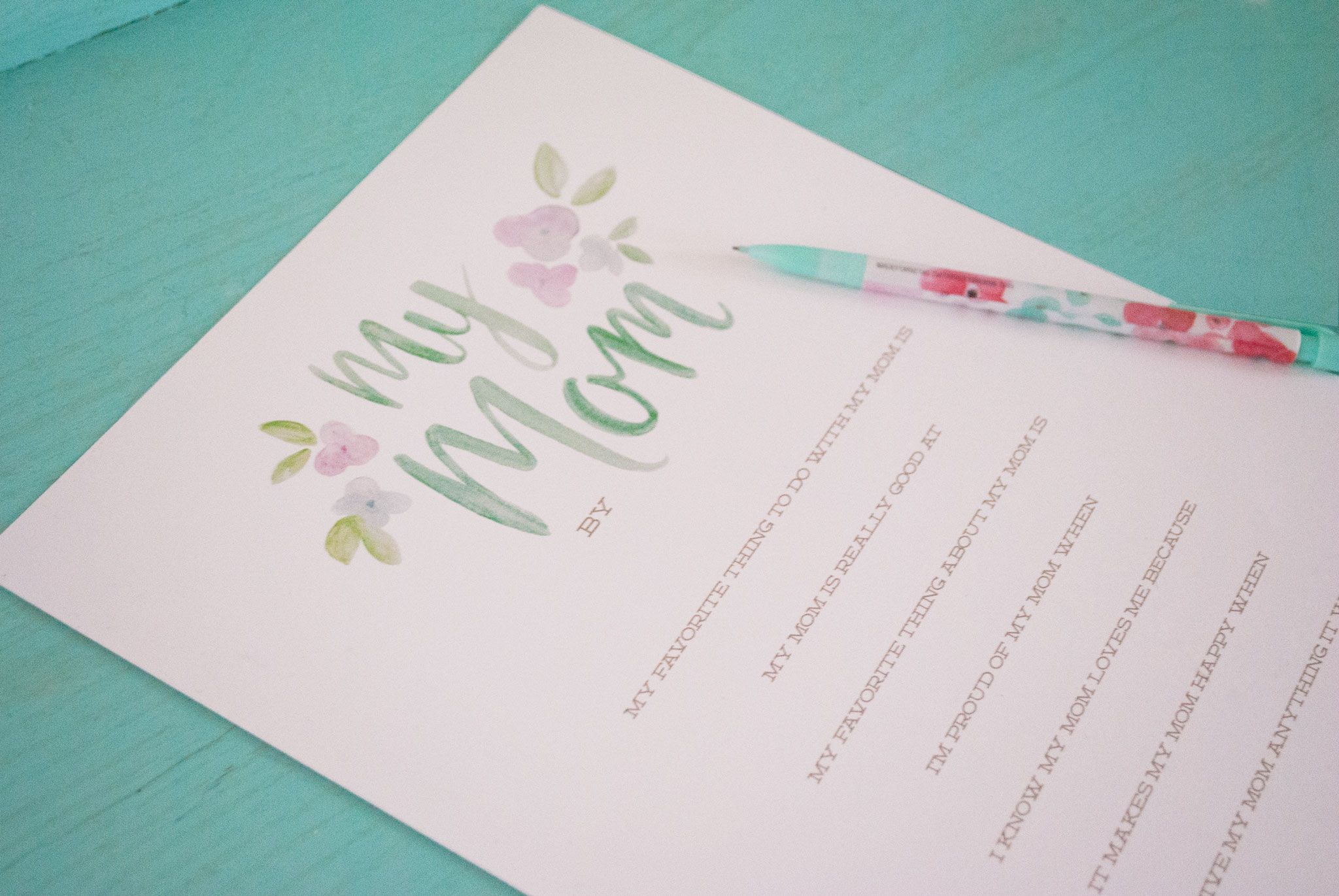 18 cute free printable mothers day cards mom cards you can print kristyandbryce Choice Image