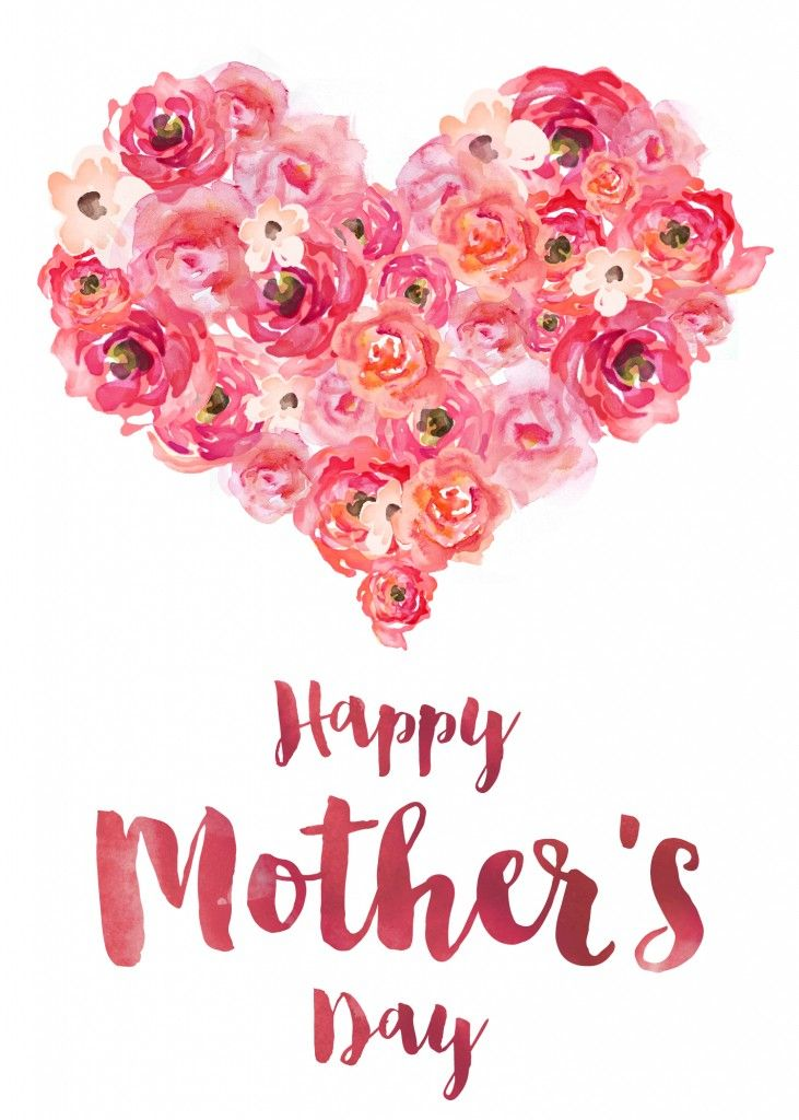 20 Cute Free Printable Mothers Day Cards Mom You Can Print