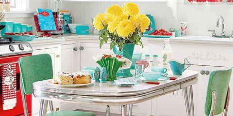 11 Retro Diner Decor Ideas for Your Kitchen - Vintage Kitchen Decor