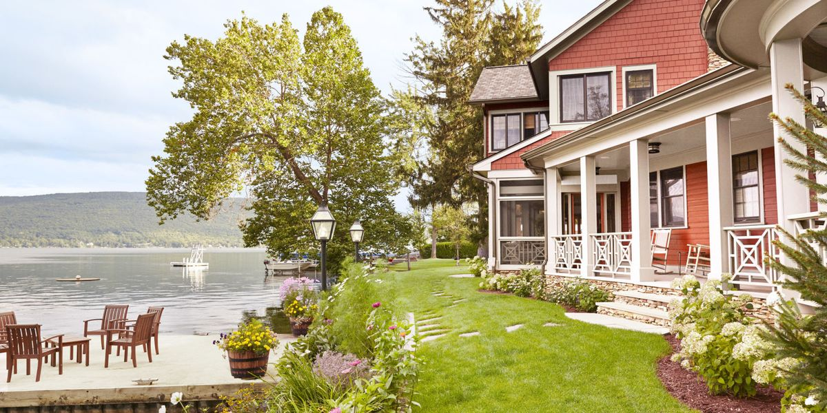 Thom Felicia Upstate New York Lake House