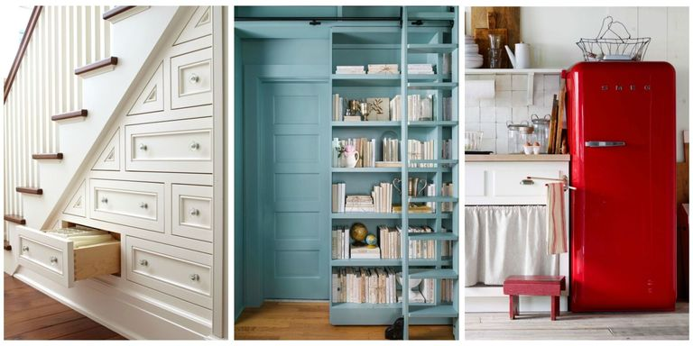 These small space decorating ideas storage solutions and smart finds will help you maximize each square foot regardless of the size of your house