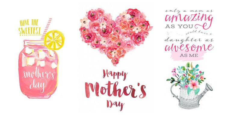 15 cute free printable mothers day cards mom cards you Mother Clip Art Light Owl Art