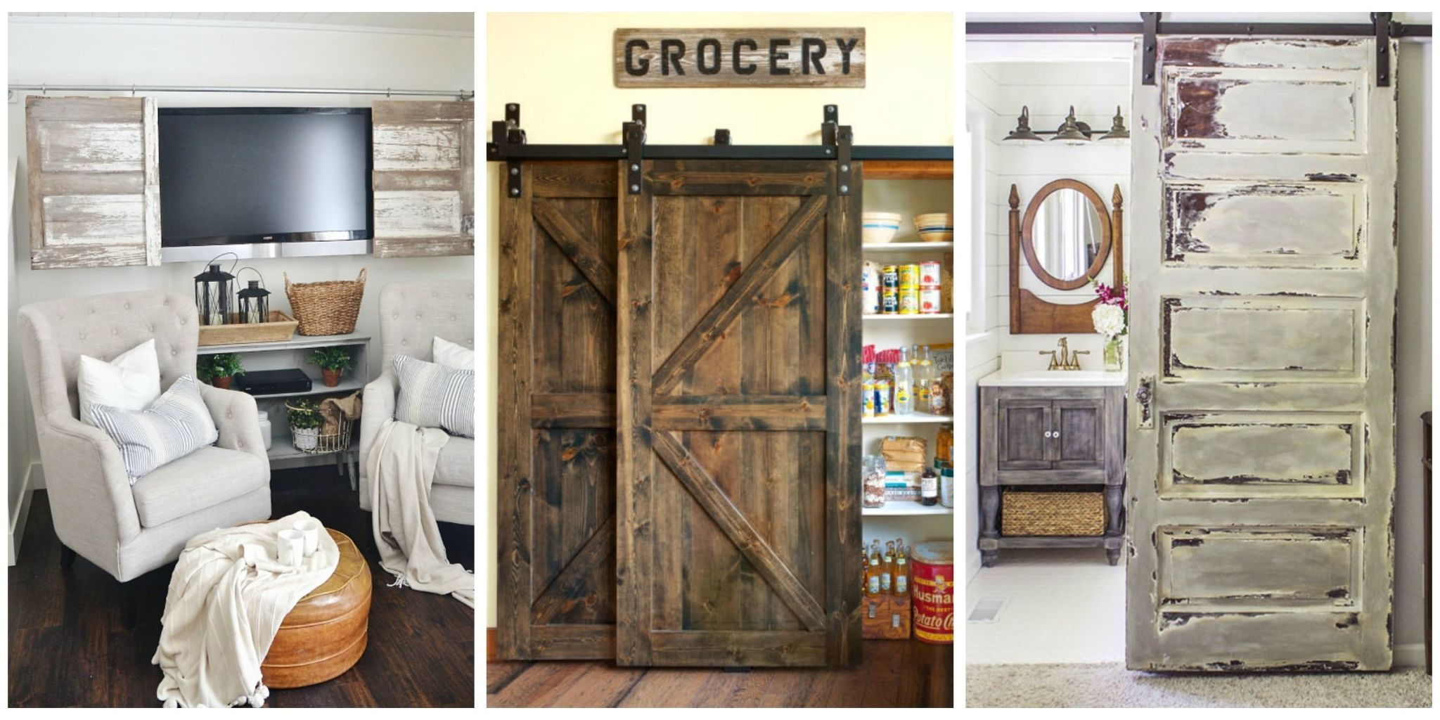 This is one feature every country home needs. & 20+ Best Barn Door Ideas \u2014 Ways To Use A Barn Door
