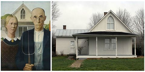 8 Real Life Houses Featured In Famous Paintings