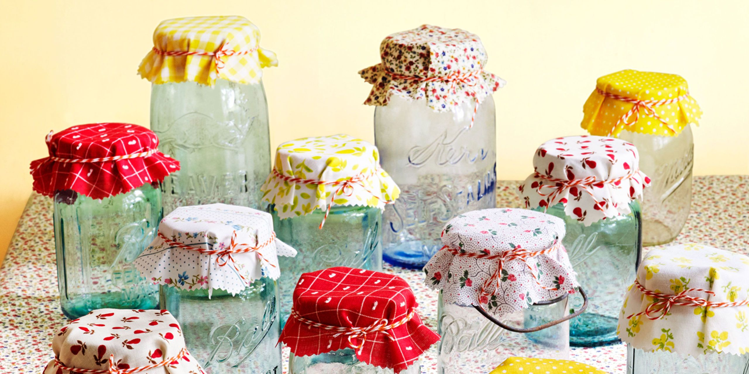 Decorating canning jars for christmas gifts