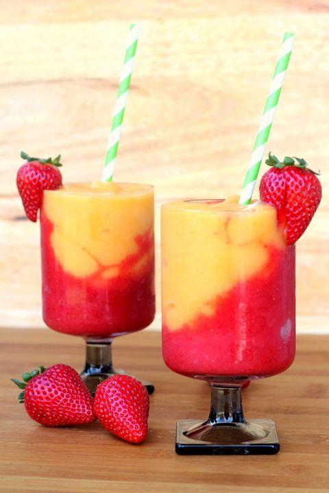Food, Red, Produce, Ingredient, Tableware, Fruit, Sweetness, Juice, Drink, Cocktail garnish,