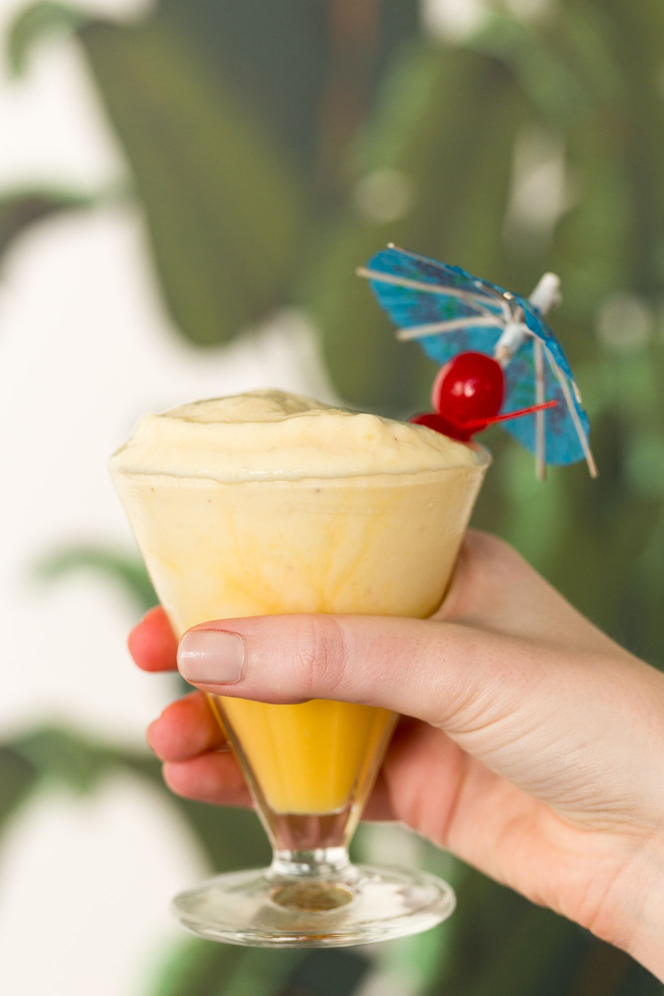This Copycat Dole Whip Is Like A Disney Vacation in a Glass