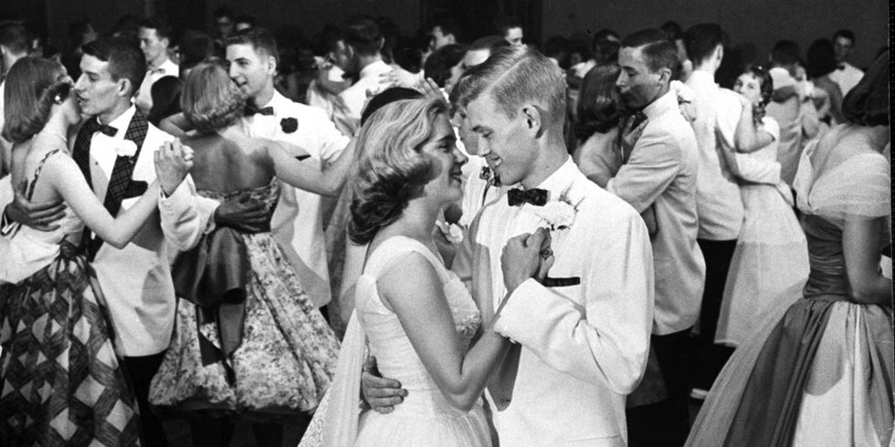 dd5fda662ce The History of Prom - 1950s High School Traditions