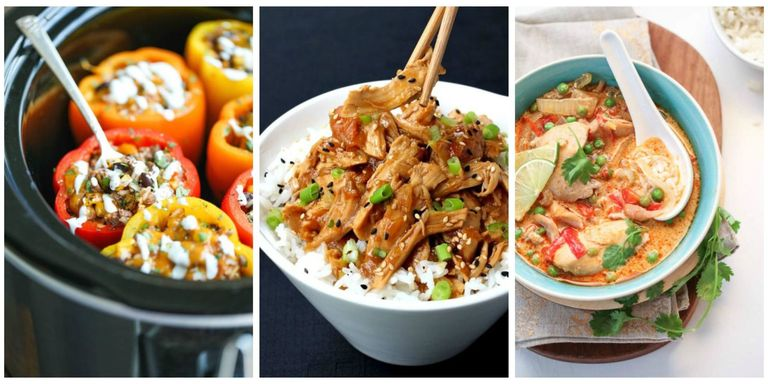 50 healthy crock pot recipes easy light slow cooker dinner ideas slow cookers make eating healthy so much simpler plus try these amazing and easy slow cooker recipes forumfinder Images