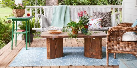 porch and patio decorating ideas - Patio Furniture Ideas
